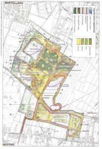 Mappa Parco Laghetti